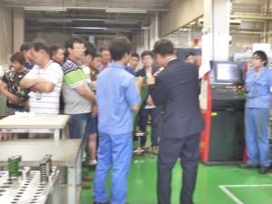 加工機メーカー様JAPANツアー