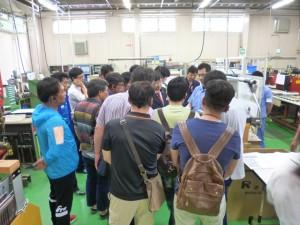 韓国の企業様、24社による工場見学