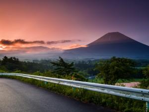 お客様より頂いた、富士山の写真
